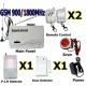 GSM/SIM Безжична алармена система за дома, вилата, офиса използваща СИМ карта на произволен оператор
