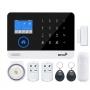 GSM/SIM/WIFI безжична СОТ алармена система за дома, офиса, вилата използваща
