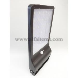 42 Лед соларно захранвана лампа със фотоклетка, датчик за движение за външно приложение