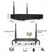 Комплект за видеонаблюдение с 4 или 8 броя безжични WiFI камер и DVR